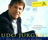 Cover Udo Jürgens - Zeig mir den Platz an der Sonne [2001]